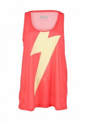 Майка Lightning Bolt LI440EWHT225. Цвет: красный