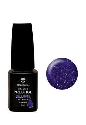 Гель-лак для ногтей Planet Nails PRESTIGE ALLURE - 638, 8 мл. Цвет: фиолетовый