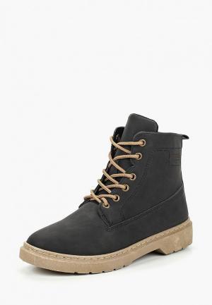Ботинки Trien. Цвет: черный