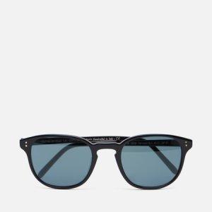 Солнцезащитные очки Fairmont Oliver Peoples. Цвет: чёрный