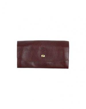 Бумажник IL BISONTE. Цвет: коричневый