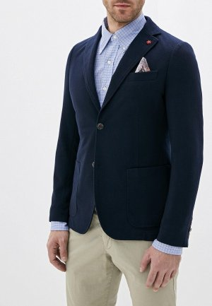 Пиджак Manuel Ritz. Цвет: синий