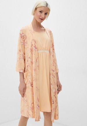 Костюм домашний Lika Dress. Цвет: оранжевый