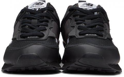 Black New Balance Edition 574 Sneakers Comme des Garçons Homme. Цвет: 1 black