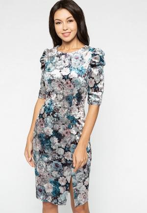 Платье Eva. Цвет: разноцветный
