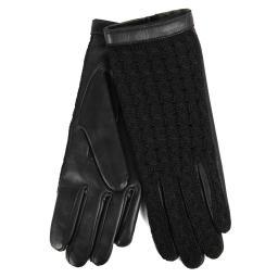 Перчатки KEIKO/AGN/W черный AGNELLE