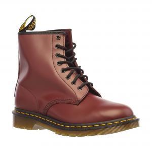 Ботинки 1460 SMOOTH DR.MARTENS. Цвет: красный, черный
