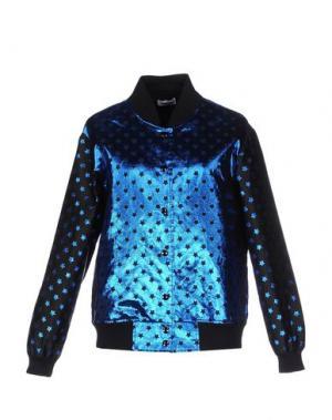 Куртка AU JOUR LE. Цвет: синий