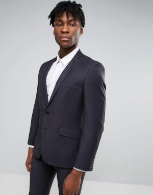 Узкий пиджак Ben Sherman. Цвет: серый