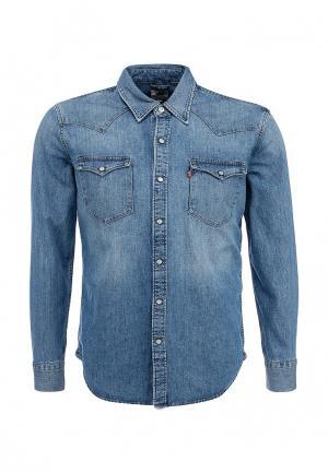 Рубашка джинсовая Levis® Levi's®. Цвет: синий