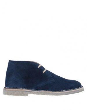 Полусапоги и высокие ботинки CALPIERRE. Цвет: синий
