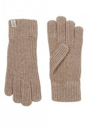 Перчатки GIORGIO ARMANI. Цвет: желтый