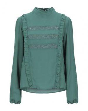 Блузка MARIUCCIA. Цвет: зеленый