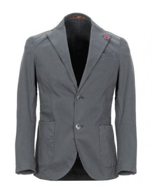 Пиджак GABARDINE. Цвет: свинцово-серый