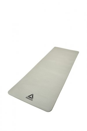 Тренировочный коврик, 7 мм Reebok. Цвет: серый