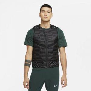Мужской беговой жилет Aeroloft - Черный Nike