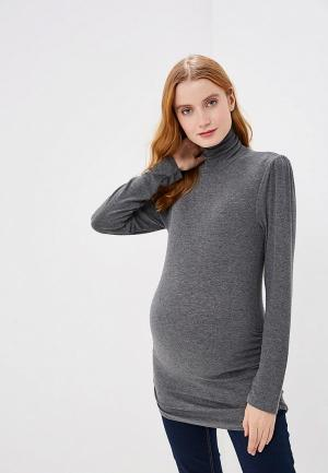 Водолазка Gap Maternity. Цвет: серый