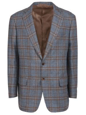 Кашемировый пиджак Castangia. Цвет: разноцветный