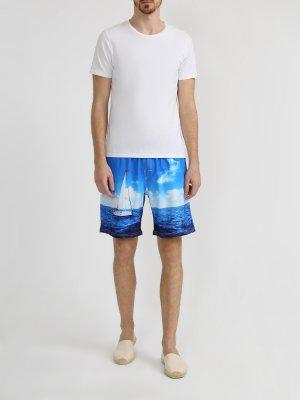 Шорты для плавания Ritter Jeans. Цвет: siniy
