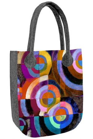 Сумка BERTONI. Цвет: multicolored