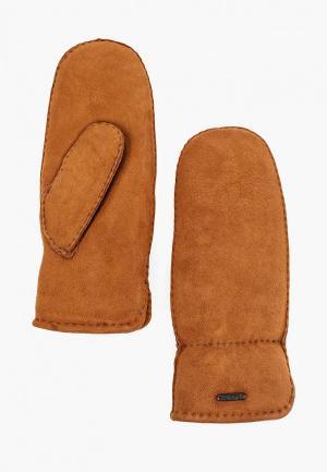 Варежки Dr.Koffer H690115. Цвет: коричневый