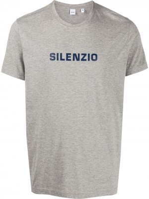 Футболка Silenzio Aspesi. Цвет: серый