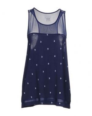 Бельевая майка DKNY. Цвет: темно-синий