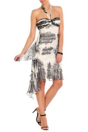 Платье Aftershock. Цвет: белый, черный
