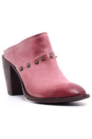 Сабо AREA FORTE. Цвет: розовый
