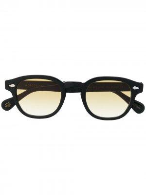 Солнцезащитные очки Lemtosh Moscot. Цвет: черный