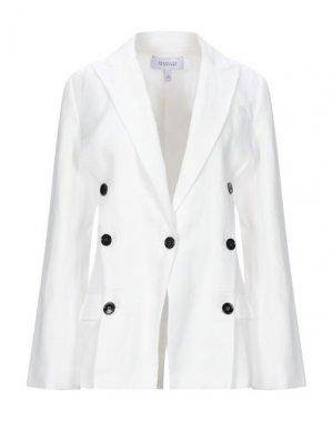 Пиджак DEREK LAM 10 CROSBY. Цвет: белый