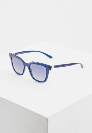 Очки солнцезащитные Dolce&Gabbana DG4362 30944L. Цвет: синий