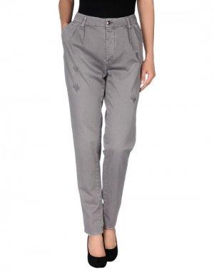 Повседневные брюки HOLLY GOLIGHTLY. Цвет: серый