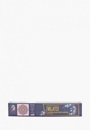 Мозаика алмазная Милато Любовь, 31 цвет, 40х40 см. Цвет: разноцветный