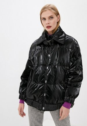 Куртка утепленная Emporio Armani. Цвет: черный