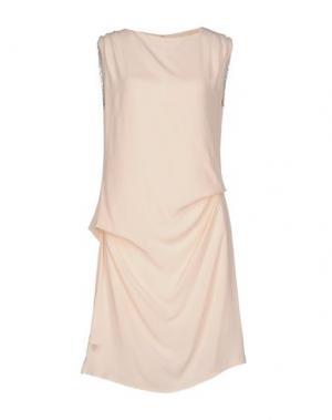 Короткое платье AAIKO. Цвет: розовый
