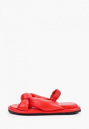 Сандалии Grand Style. Цвет: красный