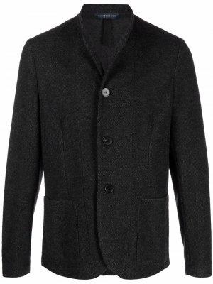 Пиджак на пуговицах Harris Wharf London. Цвет: серый
