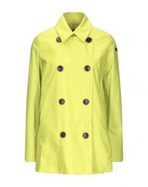 Легкое пальто RRD. Цвет: кислотно-зеленый