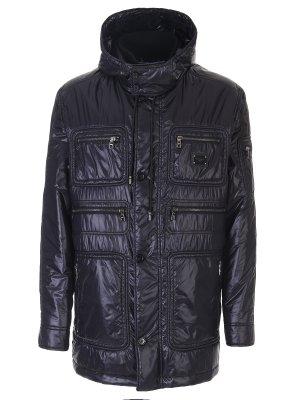 Удлиненная стеганая куртка DOLCE & GABBANA