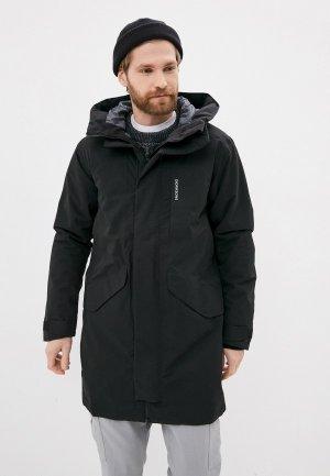 Куртка утепленная Didriksons KENNY. Цвет: черный