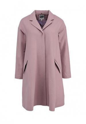 Пальто Libellulas. Цвет: розовый