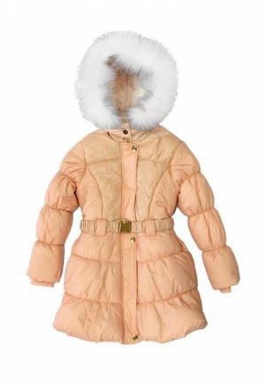 Куртка утепленная Born. Цвет: бежевый