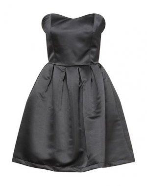 Короткое платье FRACOMINA. Цвет: черный