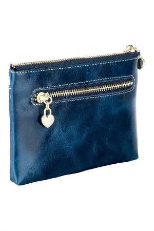 Wallet WOODLAND LEATHERS. Цвет: blue