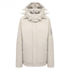 Пуховая куртка 1 Moncler J.W. Anderson Genius. Цвет: бежевый