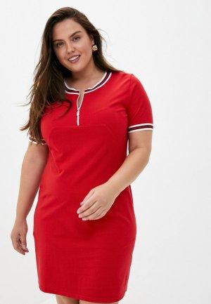 Платье El Fa Mei. Цвет: красный