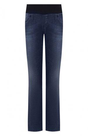 Укороченные джинсы Pietro Brunelli. Цвет: синий