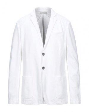 Пиджак ALPHA STUDIO. Цвет: белый