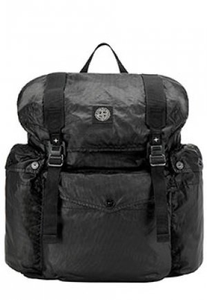 Рюкзак STONE ISLAND. Цвет: черный